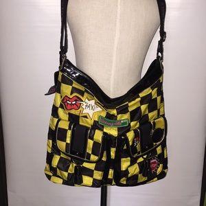 Betseyville taxi crossbody messenger bag